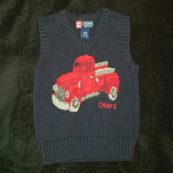 aa33e4343 Chaps Shirts & Tops | Toddler Boys 3t Sweater Vest | Poshmark